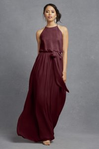 Donna Morgan Cabernet Alana Dress