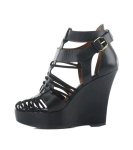 Givenchy Gladiator Wedge Sandal Black Wedges