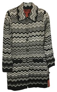 Missoni for Target Spring Coats Sweater Coat Transitional Coat Black and White Jacket