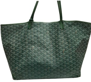Goyard Tote in greens