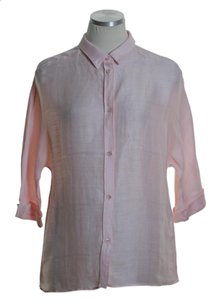 Piazza Sempione Button Down Shirt Pink
