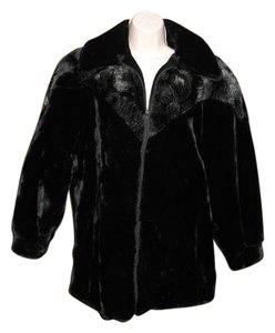 Hillmoor New York Faux Fur Vintage Fur Coat