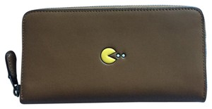 Coach Pac Man Accordion Zip Wallet