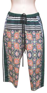Clover Canyon Cropped Elastic Casual Print Capri/Cropped Pants Multi