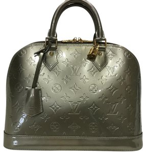 Louis Vuitton Satchel in grey silver