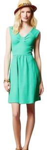 Anthropologie short dress mint green on Tradesy
