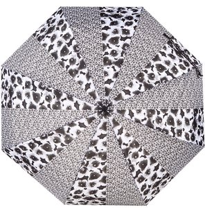 Marc by Marc Jacobs Aki Flower Print Umbrella Black and White NWT
