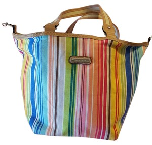 Rosetti Multicolored Handbag Tote in Multicolor stripes