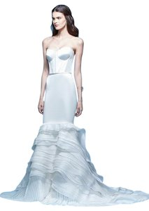 Carolina Herrera Jordana Wedding Gown Size 00 Mermaid Dress
