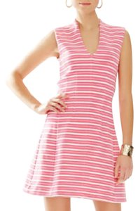 Lilly Pulitzer short dress white and pink on Tradesy