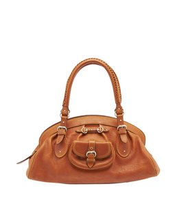 Dior Christian My Satchel in Tan