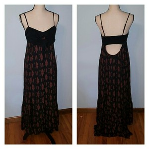 Maxi Dress by Free People Boho Textured Maxi