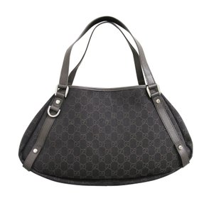 Gucci Abbey Gg Twin Hobo Tote in Brown