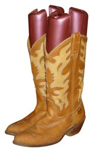 Double-H Boots Tan Boots