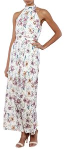 White Maxi Dress by Southern Girl Fashion Maxi Floral Long Draped Overlay Print Bohemian Festival