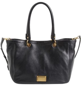 Marc by Marc Jacobs Take Your Leather Hobo Tote in Black