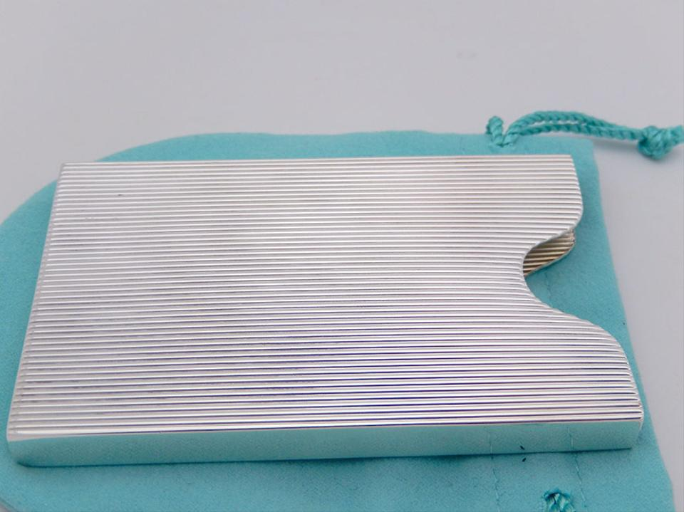Tiffany co silver heavy sterling business card holder tradesy heavy tiffany co sterling silver business card holder 123456 reheart Choice Image