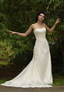 Augusta Jones Mara Silk Organza Wedding Dress Wedding Dress