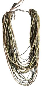 Chico's Multi Chain and Bead Necklace