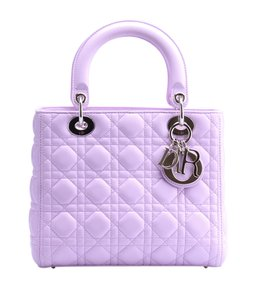 Dior Lady Tote in Pink