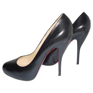 Christian Louboutin Leather Black Pumps
