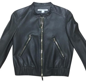 Diane von Furstenberg evergreen Leather Jacket