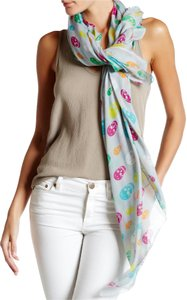 Blue Pacific Blue Pacific Skull Scarf Grey