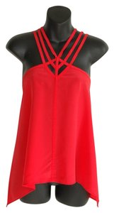 BCBGMAXAZRIA Top red