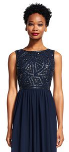 Adrianna Papell Navy 19191079 Dress