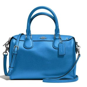 Coach Pebbled Mini Bennett Satchel