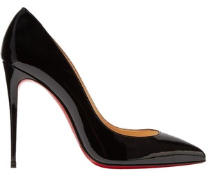 Christian Louboutin Pigalle Pigalle Louboutin 100mm black patent Pumps