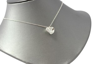 Tiffany & Co. Tiffany & Co Full Heart Necklace Sterling Silver