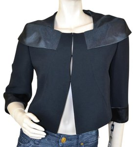 Tahari Lined Holiday Formal Black Blazer
