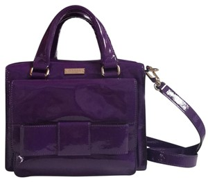 Kate Spade Tote in Purple Patent Leather