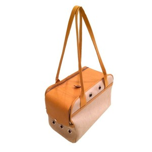 Hermès ' Pet Carrier Dog Pet beige Travel Bag