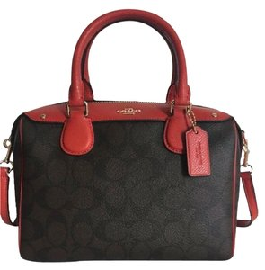 Coach Mini Bennett Signature Satchel