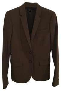 Theory Brown Dark Brown Blazer