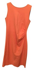 Kenneth Cole Zipper Coral Dress