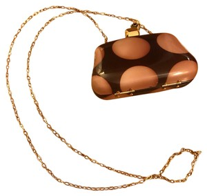 Henri Bendel Brown Clutch