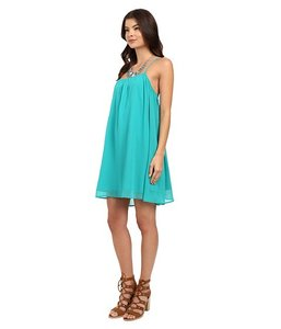 Jack by BB Dakota short dress Turquoise/Teal Coverup on Tradesy