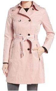 Guess Light Pink Trench Trench Coat