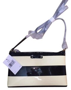 Kate Spade Striped Pinstripe Cross Body Bag