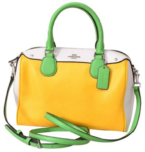 Coach Colorblock F37708 Satchel