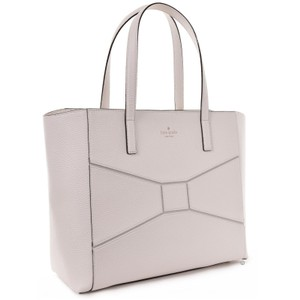 Kate Spade Leather Francisca Tote in CREAM