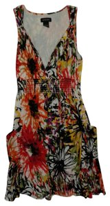 Spense short dress Large print floral on Tradesy