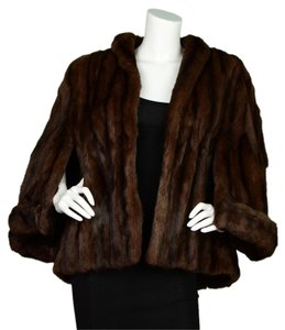 Mink Fur Fur Coat Cape