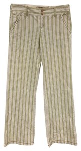 Free People Wide Leg Pants Green, White, Beige, Cream