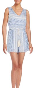 Romeo & Juliet Couture short dress Blue / White on Tradesy