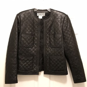 Carlisle Leather Quilted Leather Jacket