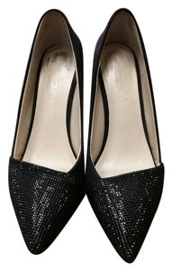 ALDO Sparkle Suede Black Pumps